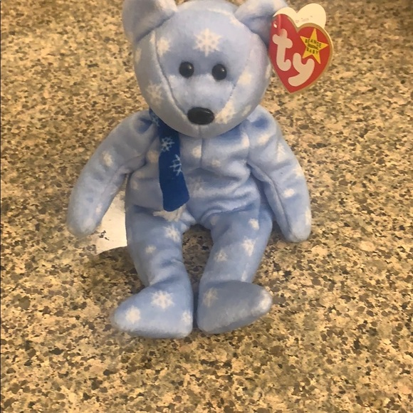 Ty Beanie Babies 1999 Holiday Teddy Collector